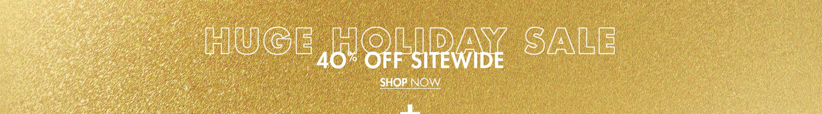 40% Off Sitewide