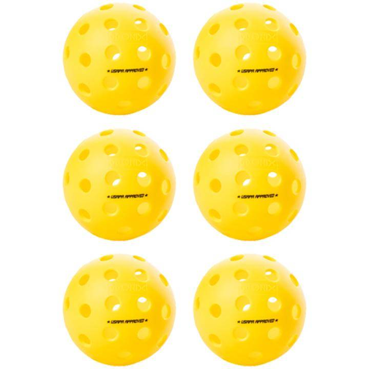 Onix Fuse Outdoor Pickleball 6 Pack