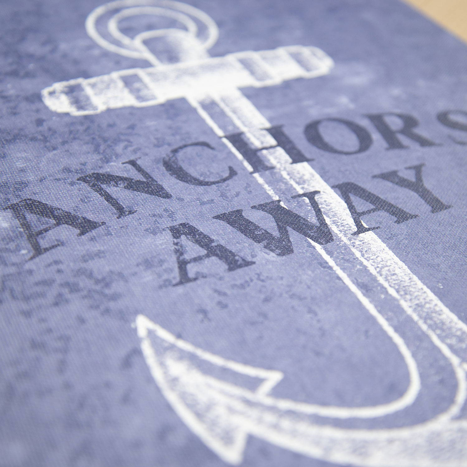 Conquest Maps Anchors Away Canvas Art