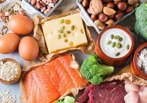 Lebensmittel für den Muskelaufbau