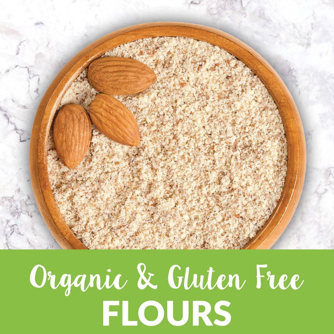 Organic and gluten-free flour bulk