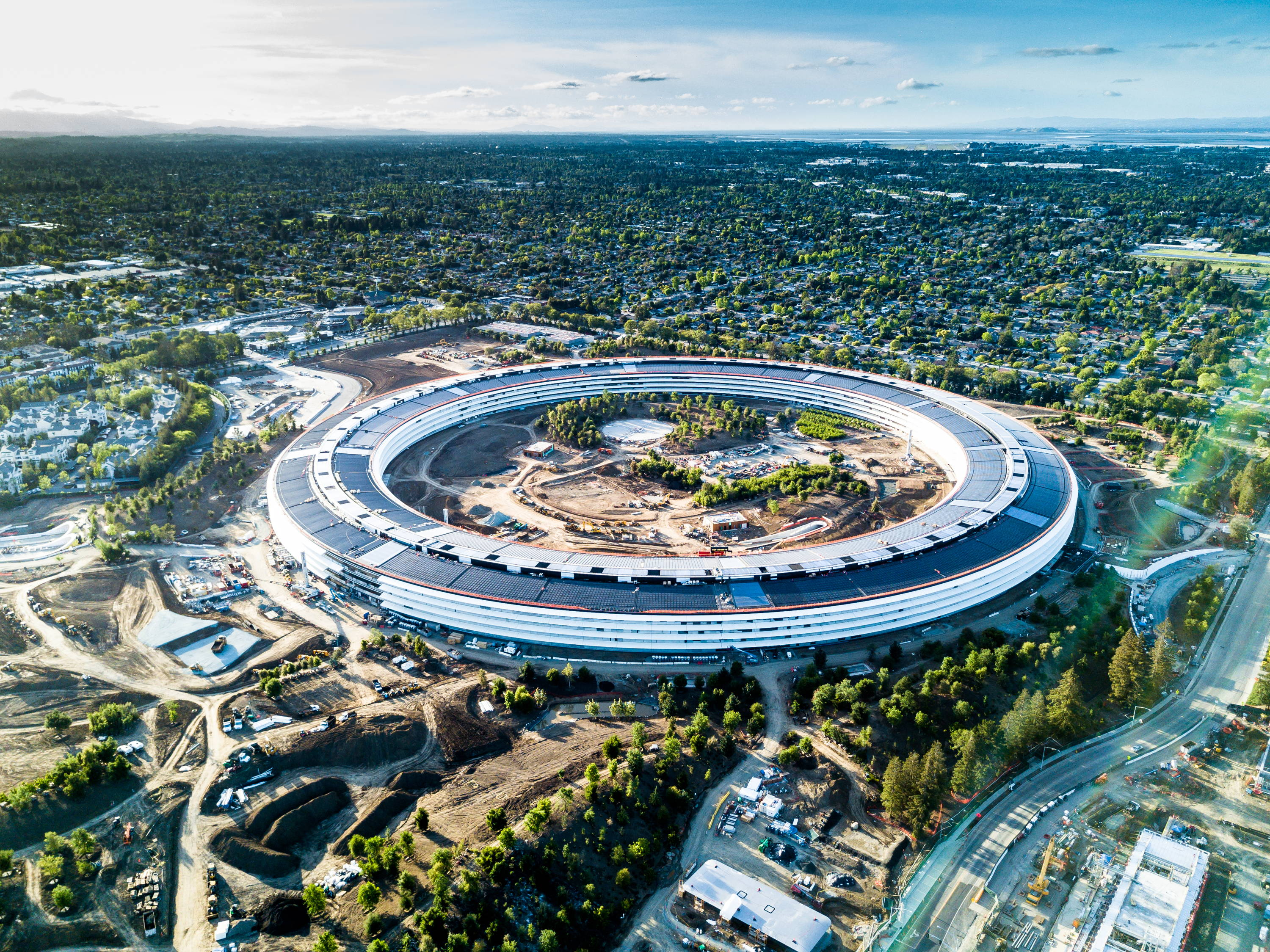 Apple Park with Solar Array