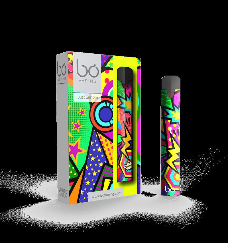 Pop Art Limited Edition Bo One Vape Kit - Bo Vape