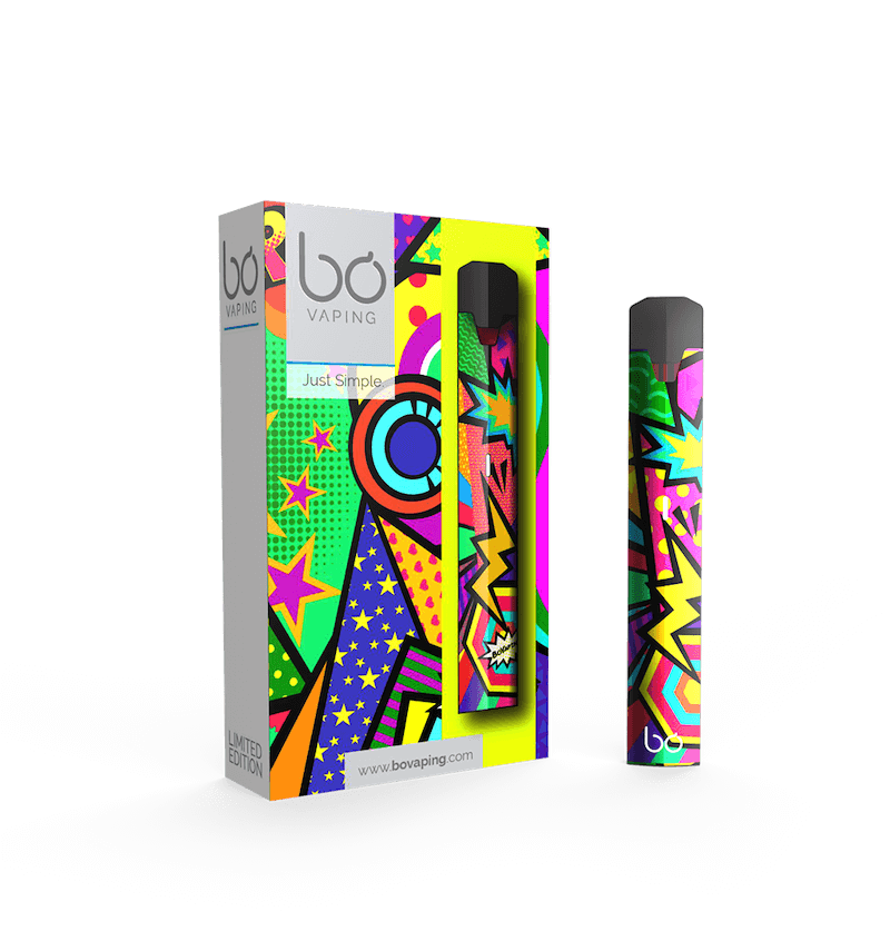 Pop Art Limited Edition Bo One Vape Kit - Bo Vape
