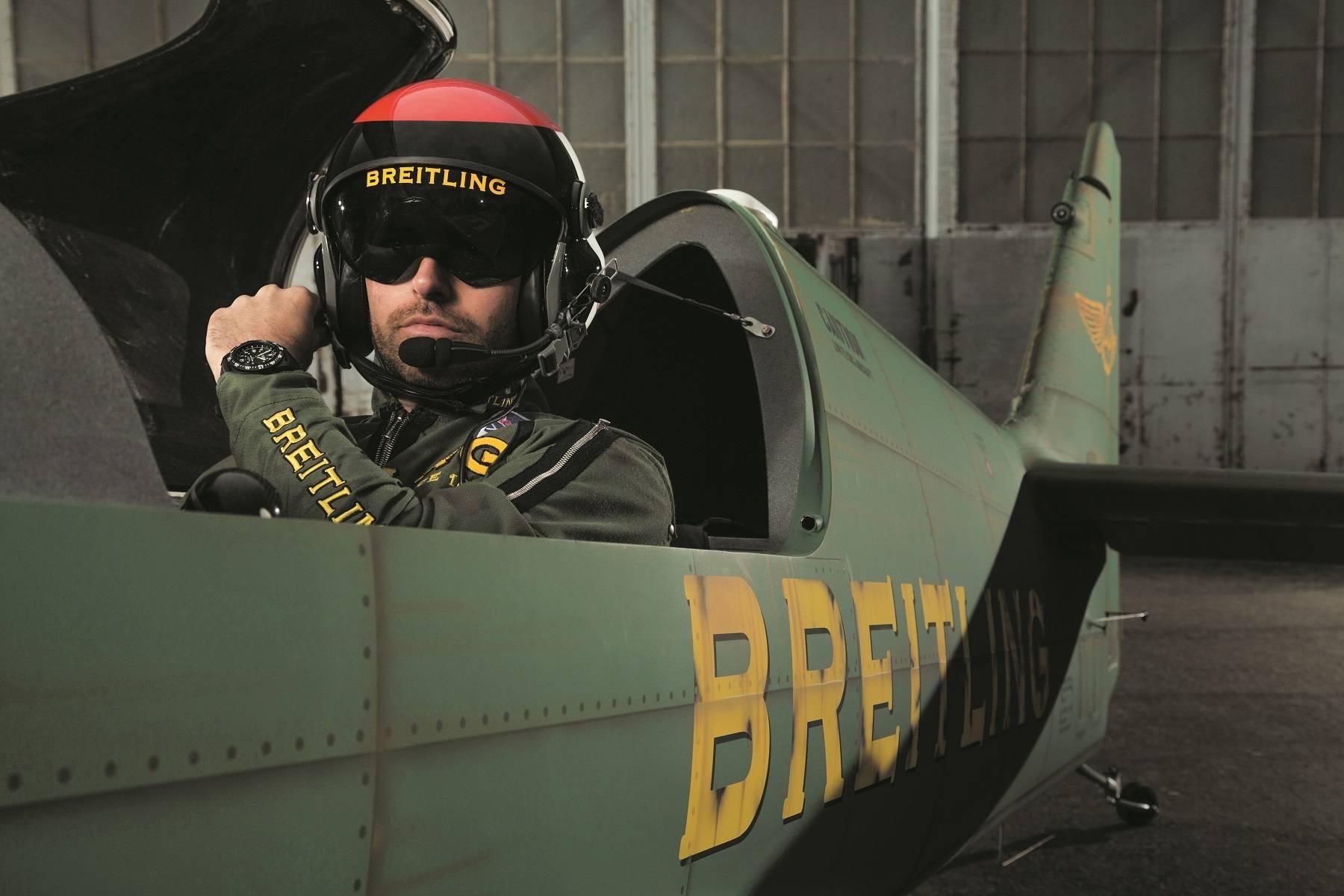 Breitling Sky Racer and Pilot