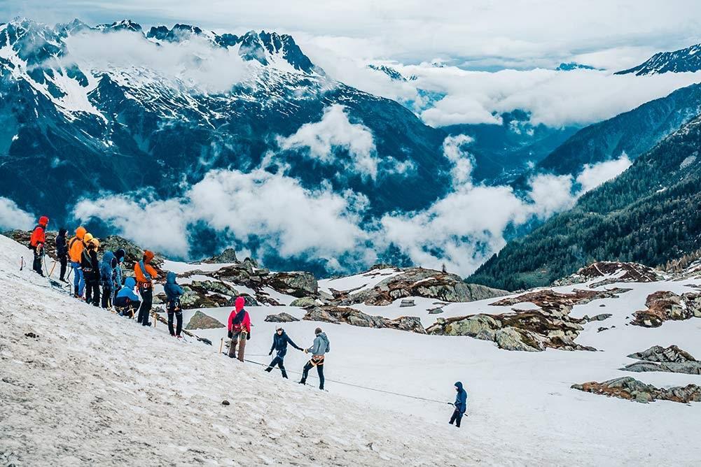Mont blanc randonnées