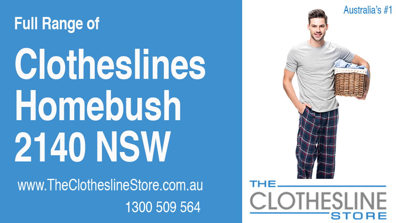 Clotheslines Homebush 2140 NSW
