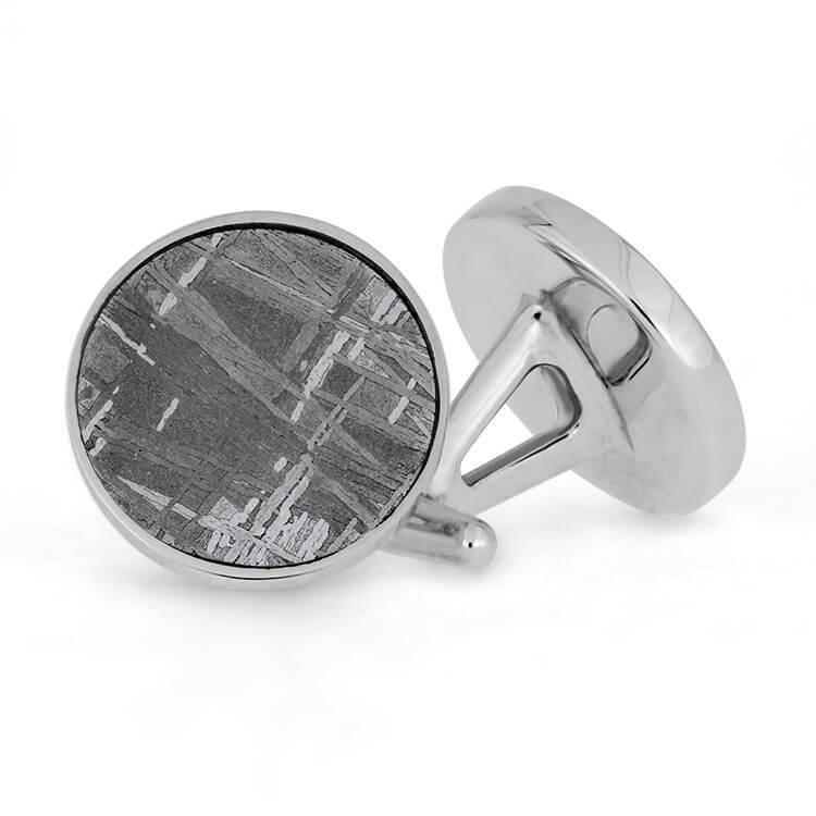 Meteorite Cuff Links