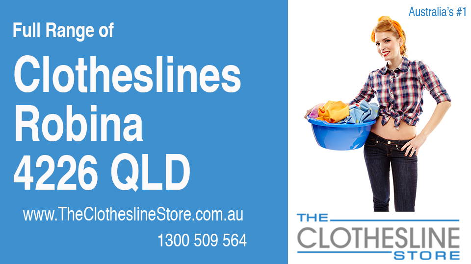 New Clotheslines in Robina Queensland 4226