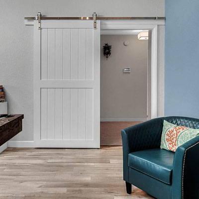 A Single Barn Door