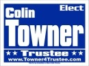 Political Campaign Sign Template #0018