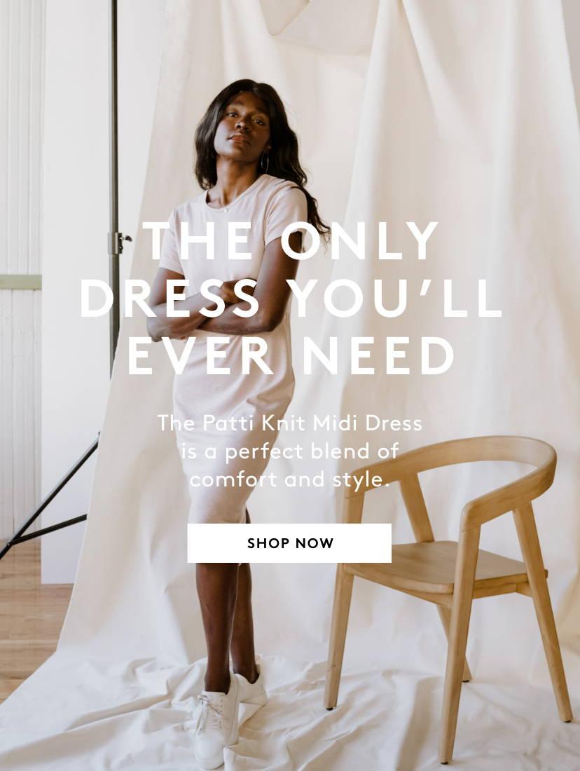 Shop Patti Knit Midi Dress