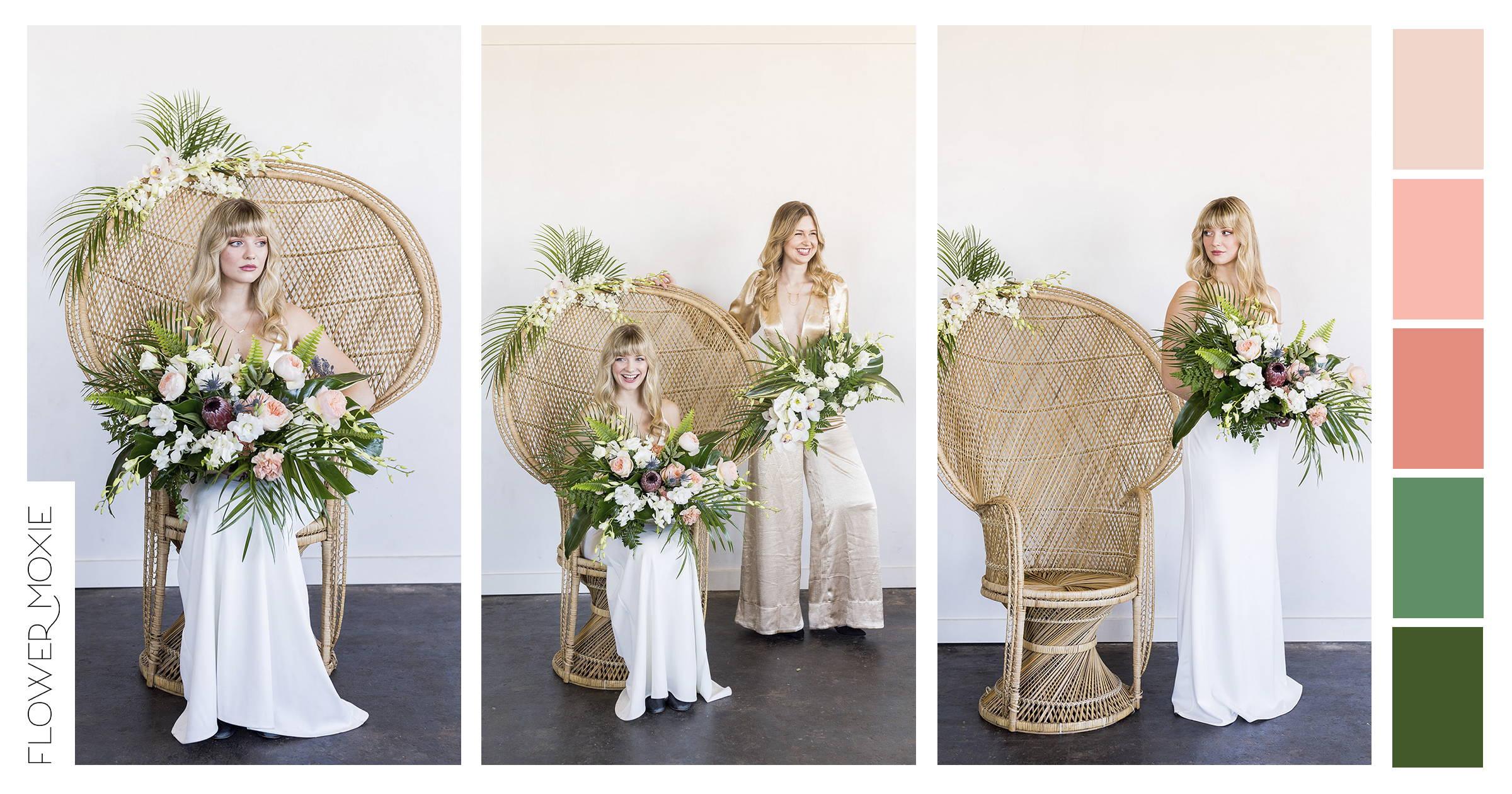tropical bridal bouquet ideas
