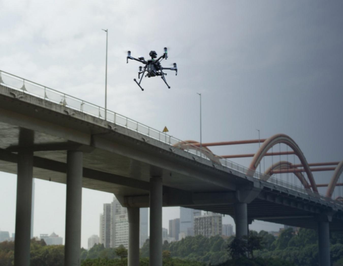 DJI Matrice 200 Series Bridge Inspection