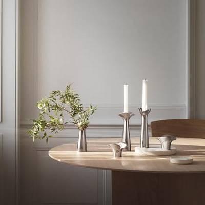 Modern Home Decor - Candle Holders, Bloom Botanica Candle Holder
