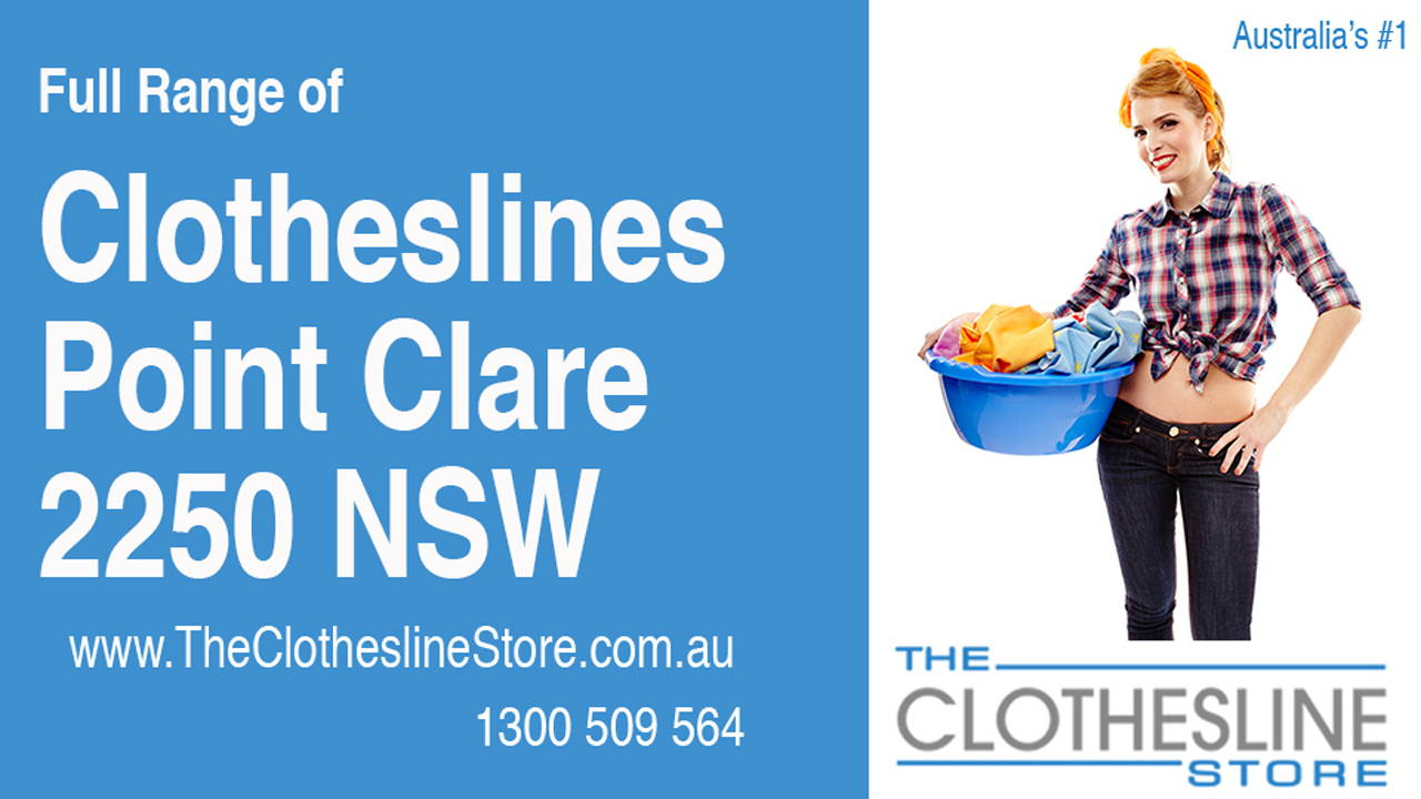 Clotheslines Point Clare 2250 NSW