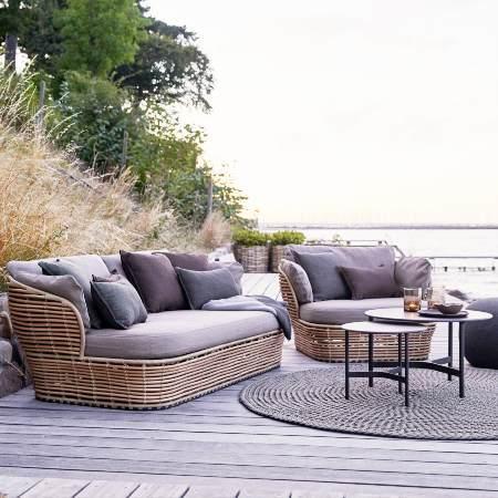 Modern Cane-line Sofa