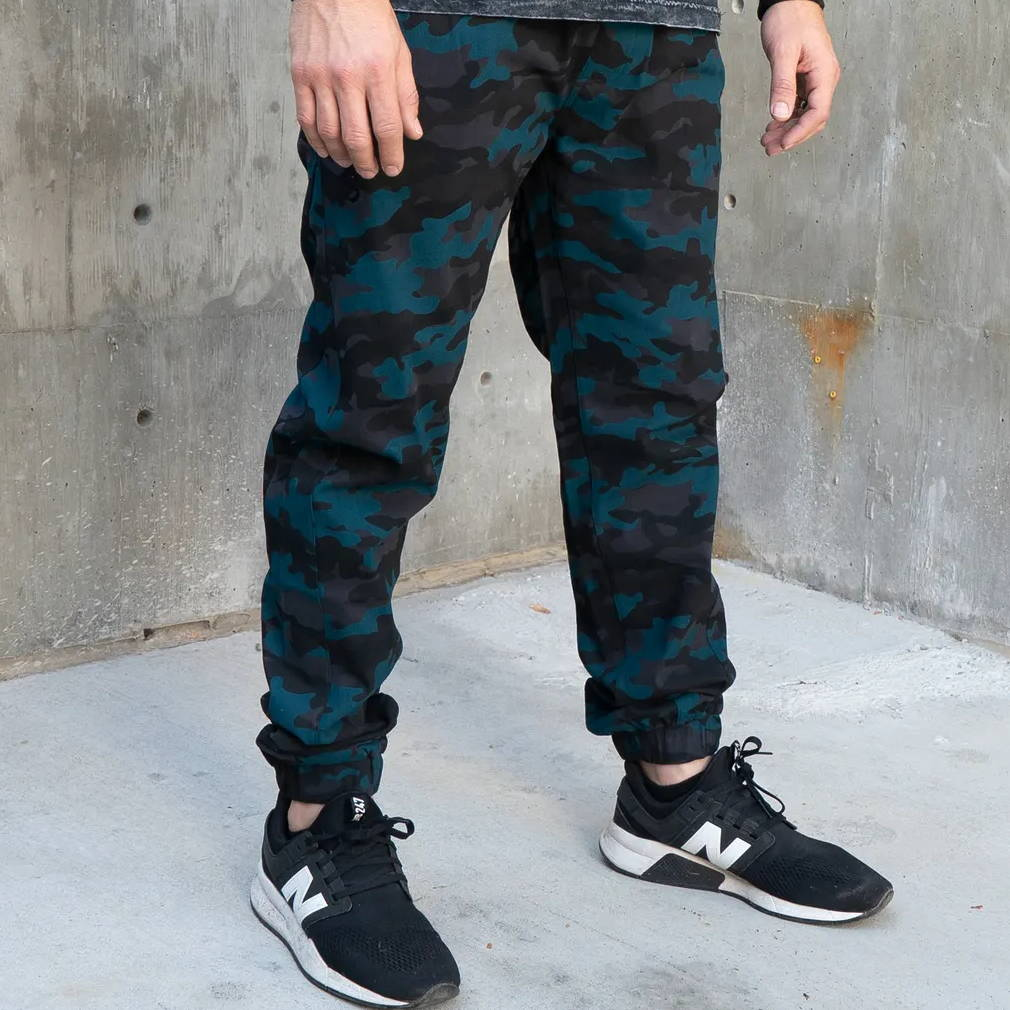Photo of a male model wearing Shroud pants