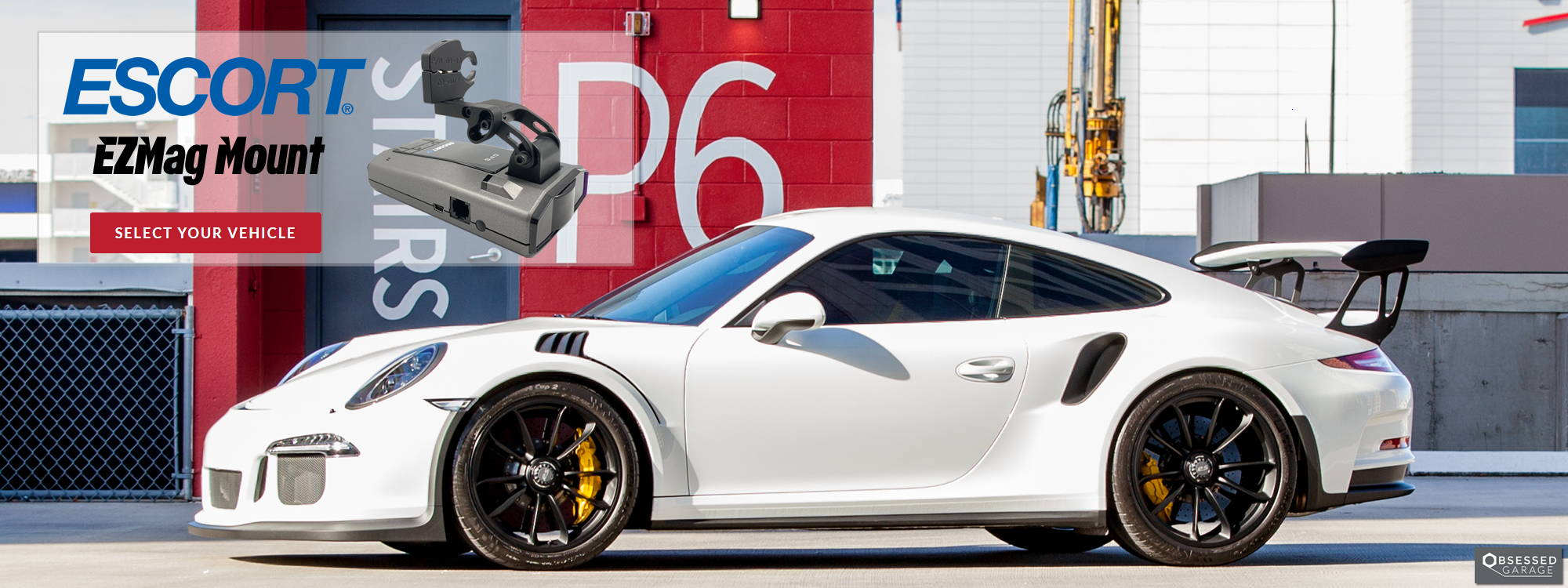 BlendMount Escort EZMag Mount Porsche GT3 RS