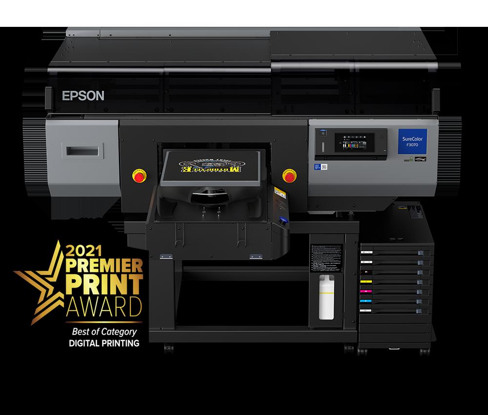 Epson Sureclor F3070 Direct to Garment Printer