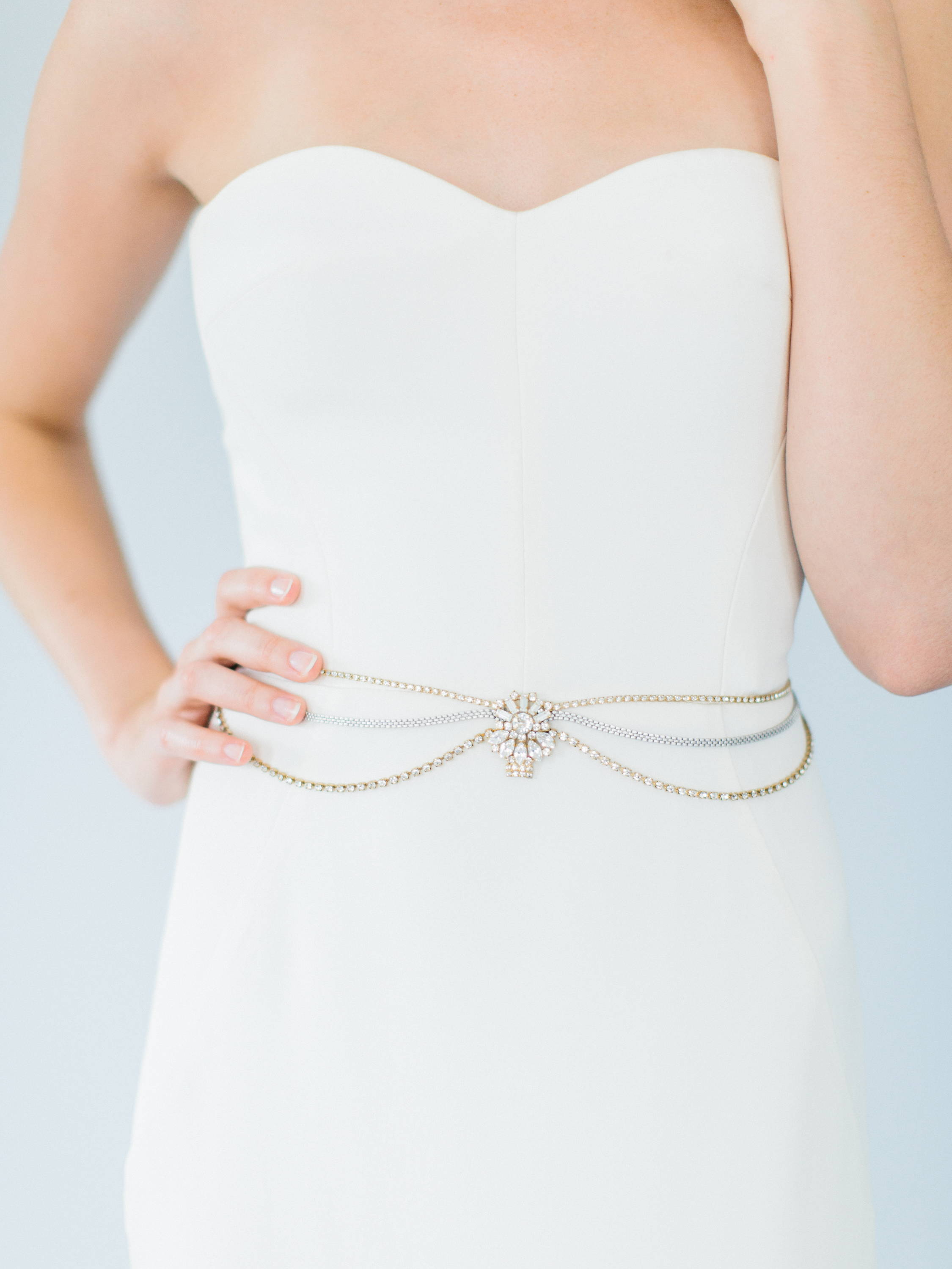Ampersand Bridal Cairo Wedding Belt