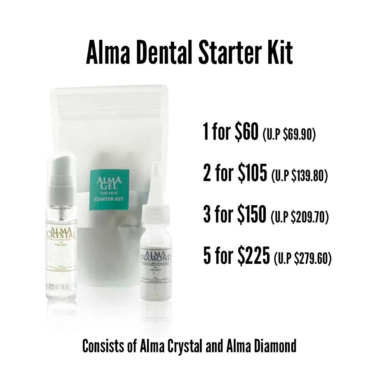 pawpy kisses black friday alma dental starter kit promotion