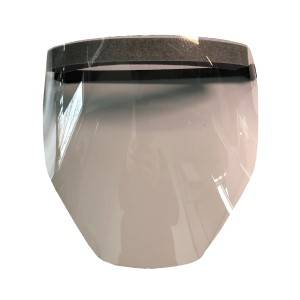Faceshield/Face Mask - Plastic w/Adjustable Hook & Loop Close (PK 100 Shields)- RPB SN-Z Made in USA