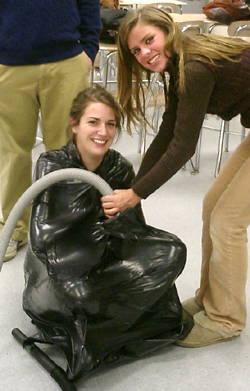 Garbage Bag Hug