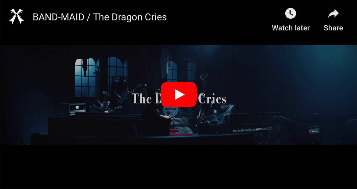 Band-Maid The Dragon Cries music video thumbnail