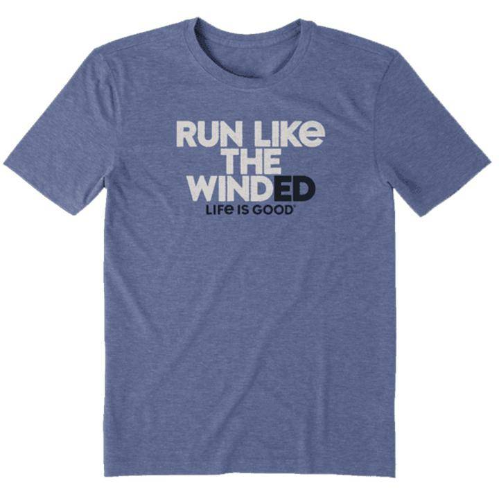 Life is Good Run Like the Winded Men's Tee