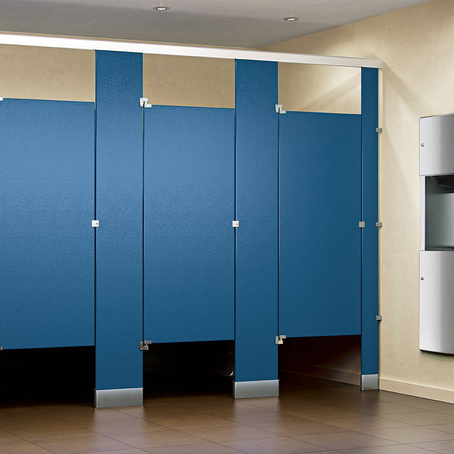 HDPE Solid Plastic Toilet Partitions in Toronto, ON