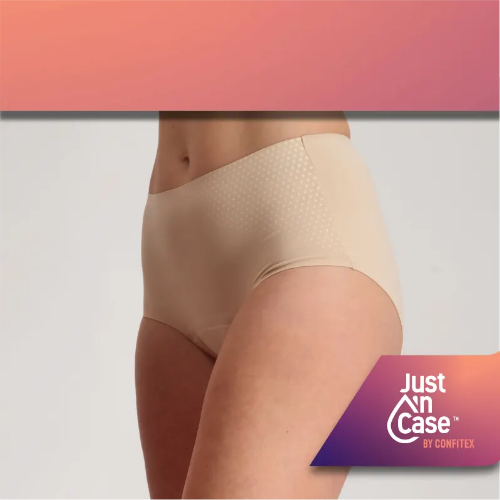 Shop Just'nCAse Pee-proof underwear for Light to Moderate Bladder Leakage