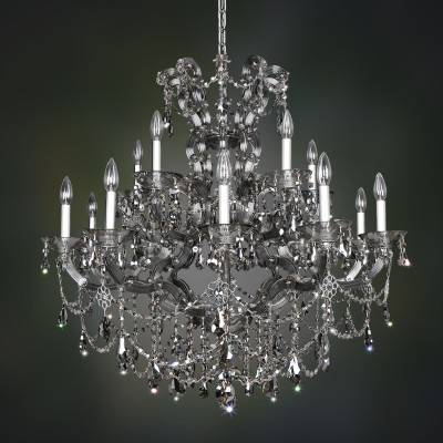 Allegri Lighting Crystal Pendants, Chandeliers, Wall Sconces, & Ceiling Lights - Brahms Collection