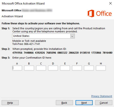 Microsoft Office activation wizard - Steps - LicenceDeals.com