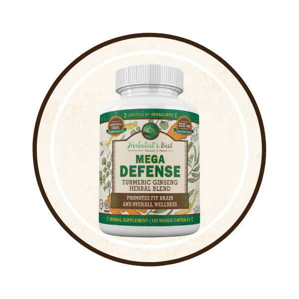 Mega Defense- Brain and Immune System Booster -bullet icon