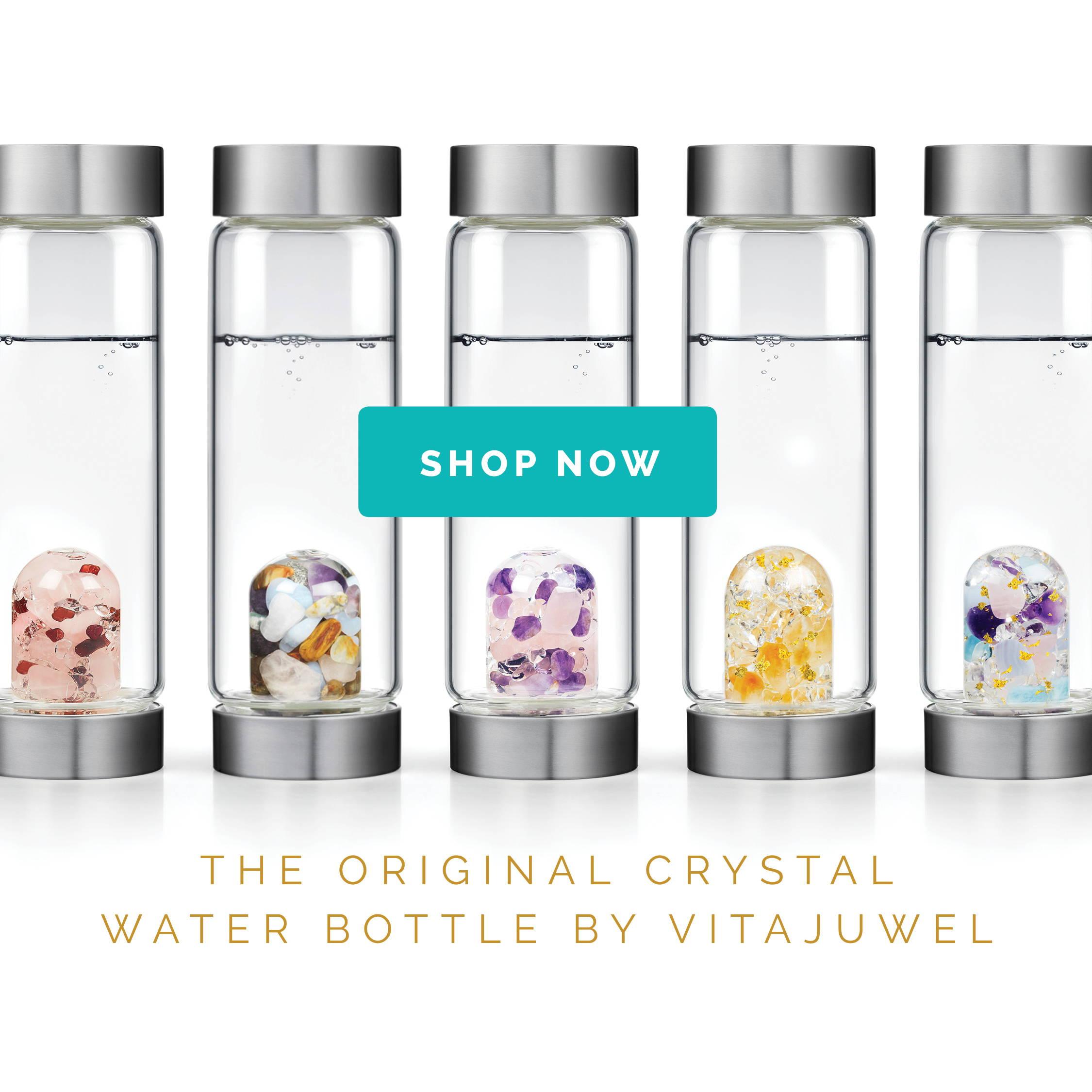 Gem-Water Bottles by VitaJuwel
