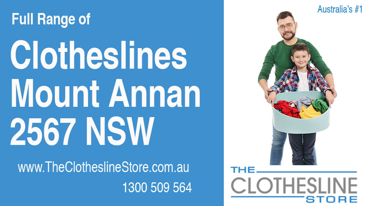 New Clotheslines in Mount Annan 2567 NSW