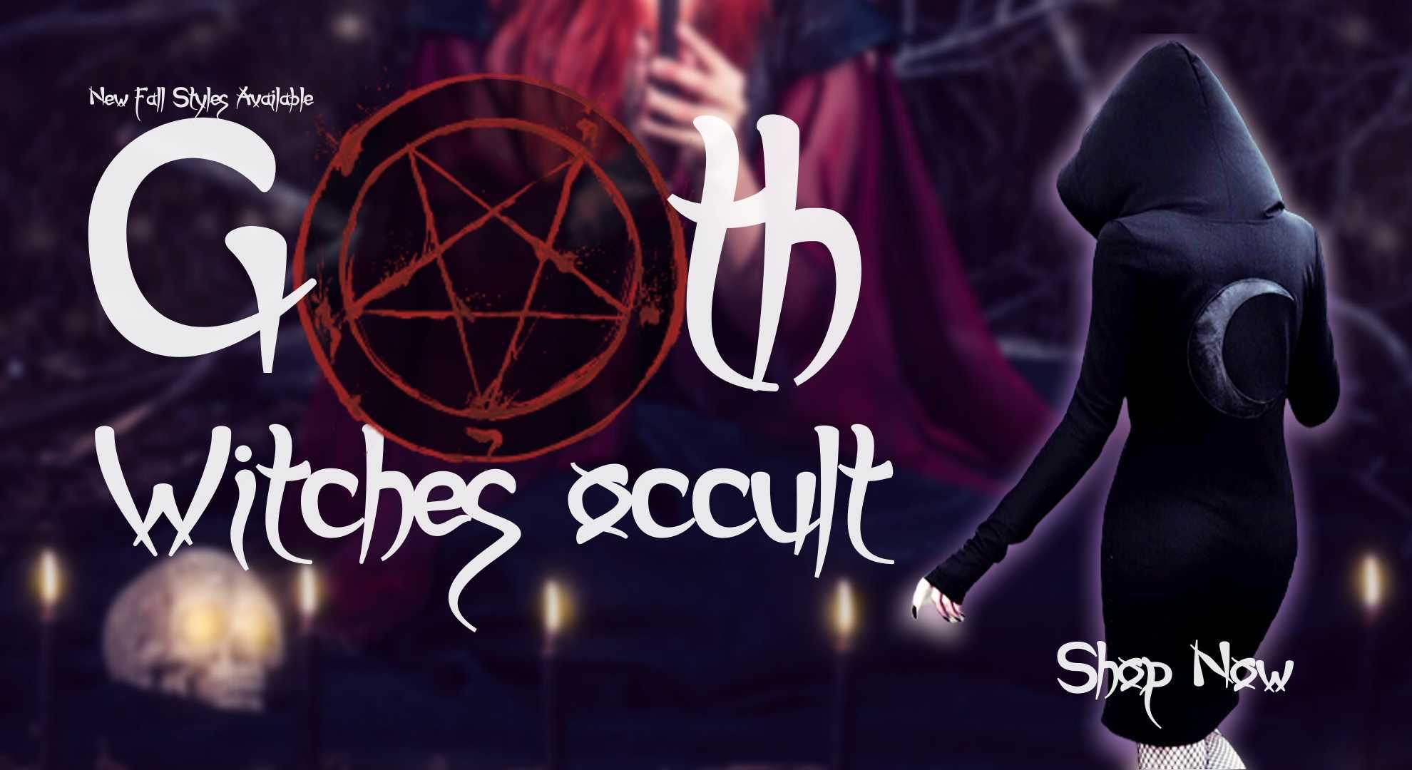Goth Clothing Witches Occult Subculture Clothing online Neon Underground Apparel