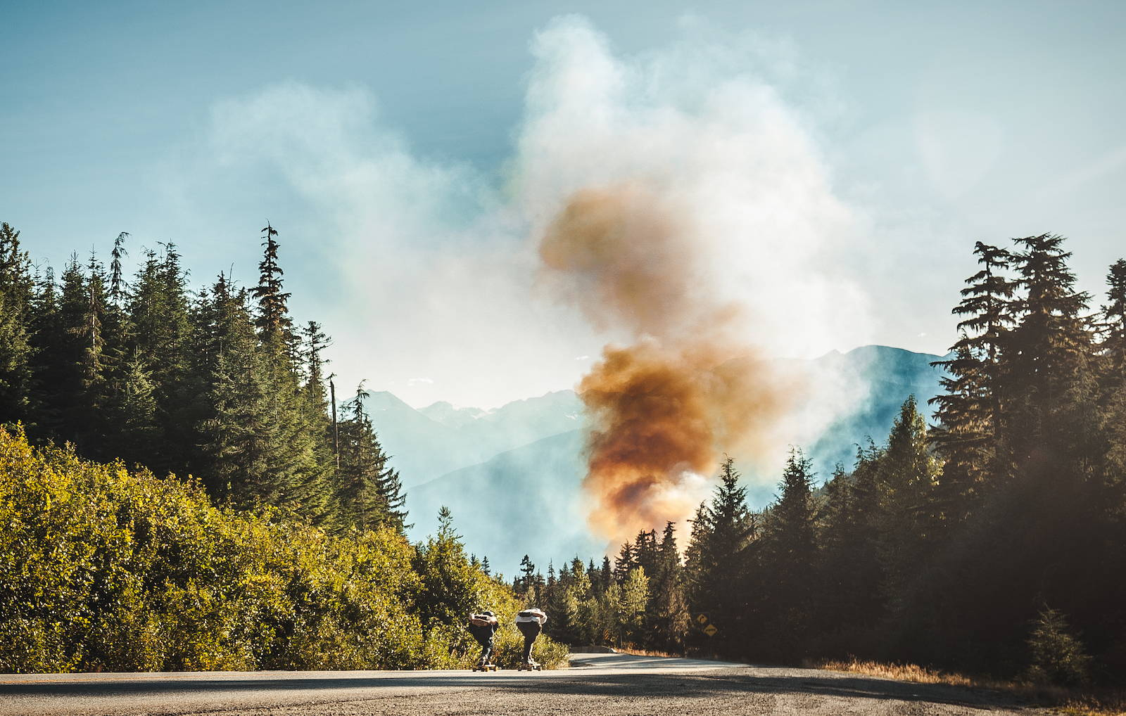 Mtn. Pursuits Canadian Coast Mountains Downhill Smokey Cruise