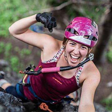 NW Alpine Ambassador Katie McKinstry Dry Tooling Profile Pic