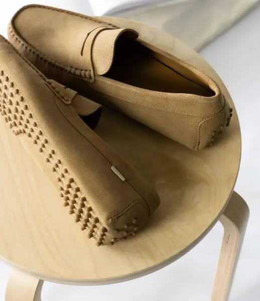 Oliver Cabell Men's Driving Loafer in Sand