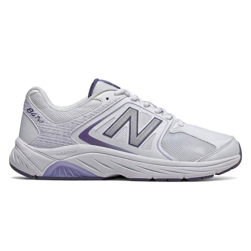 New Balance 847v3 Women's Walking - White with Grey