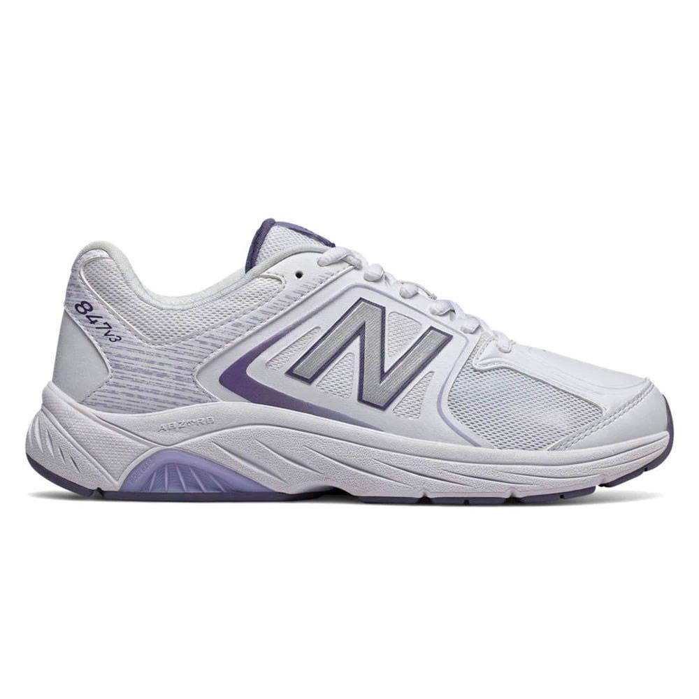 New Balance 847v3 Women's Walking - White with Grey