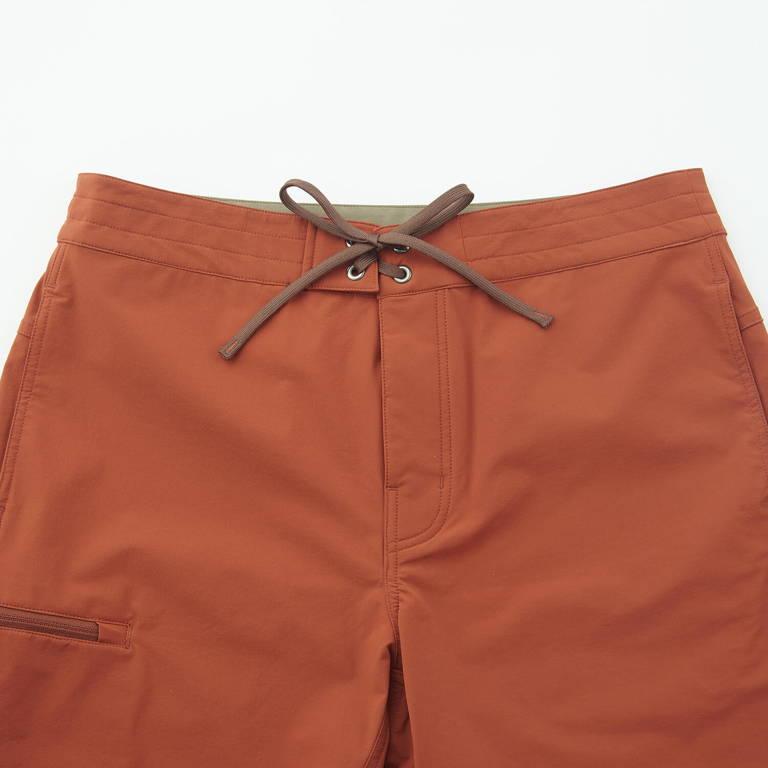 Teton Bros.(ティートンブロス)/クライミングサーフショーツ/オレンジ/MENS