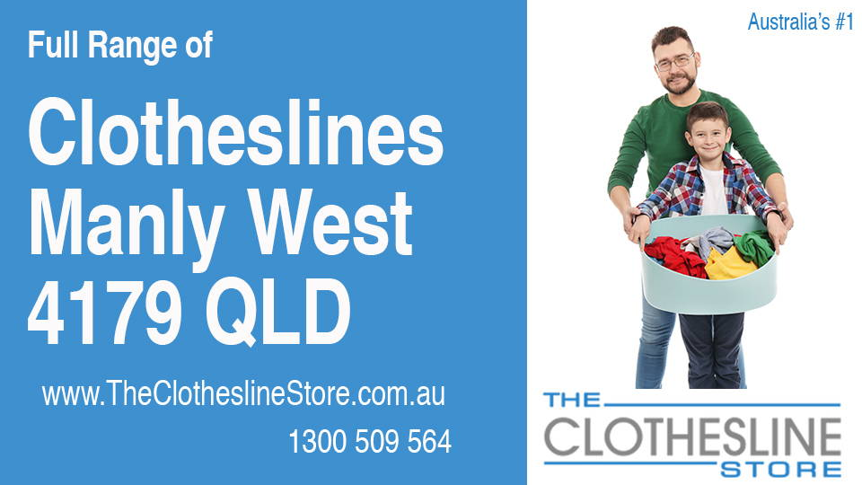 New Clotheslines in Manly West Queensland 4179