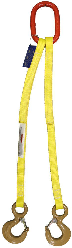2 leg Nylon Bridle Sling - Bridle Lifting Slings