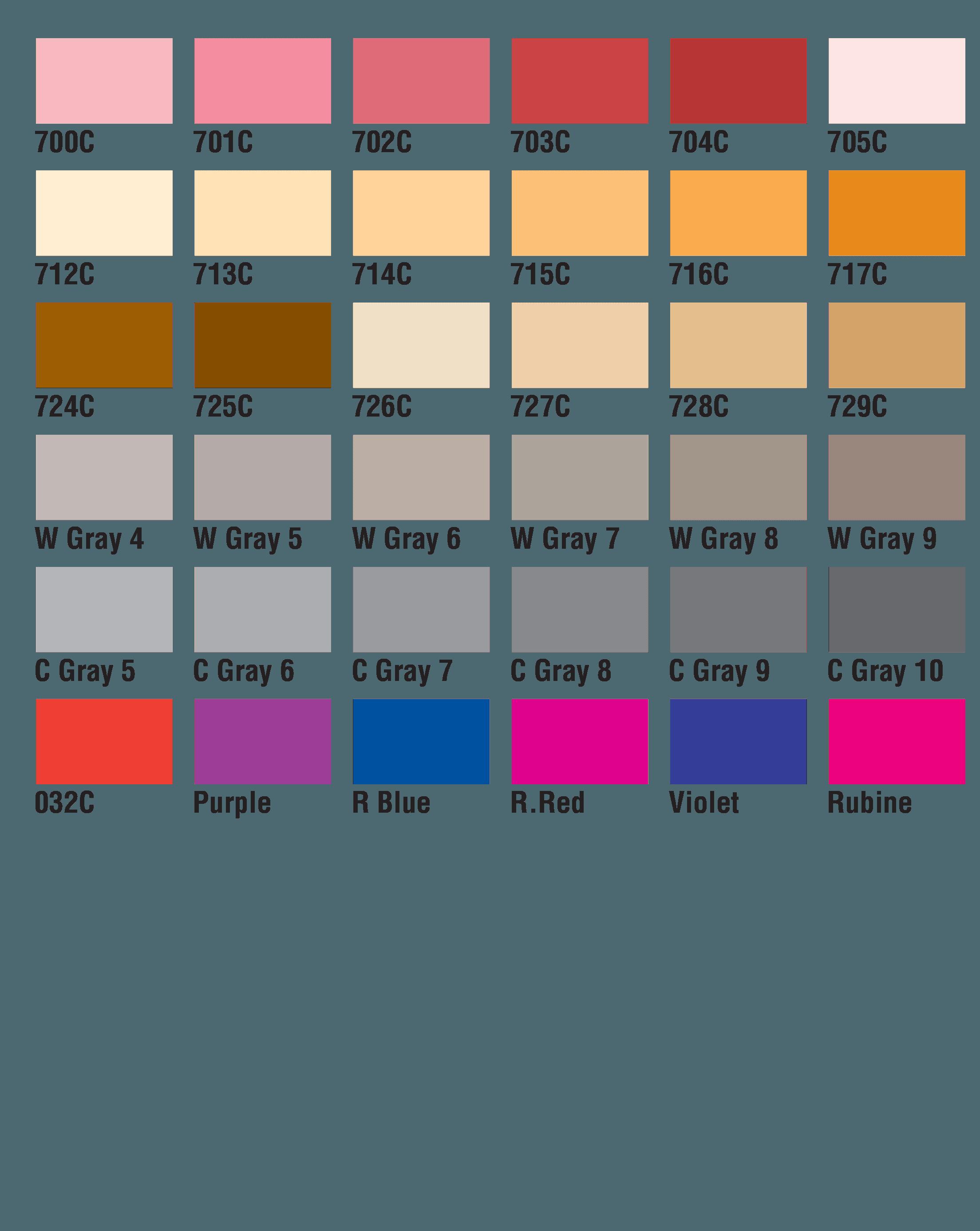 PMS Colors 17