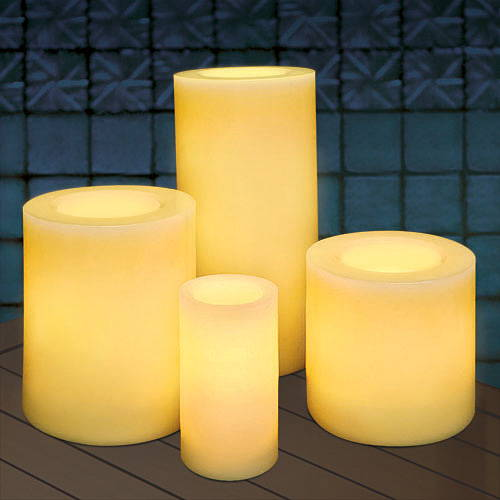 Battery Operated Outdoor Candles