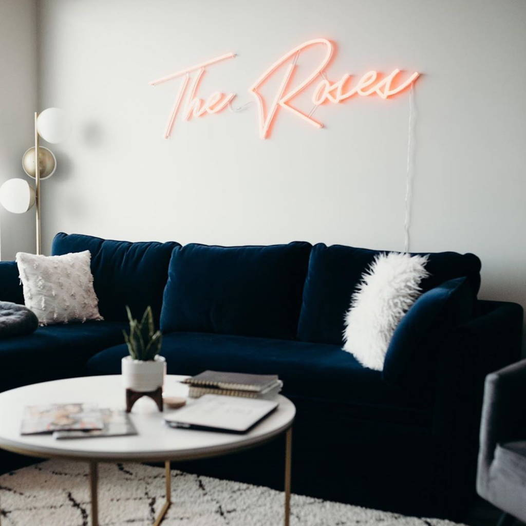 Brite Lite neon sign for home The Roses