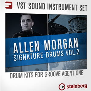 Allen Morgan Signature Drums Vol 2